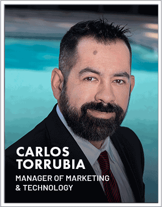 Carlos Torrubia -Manager of Marketing & Technology